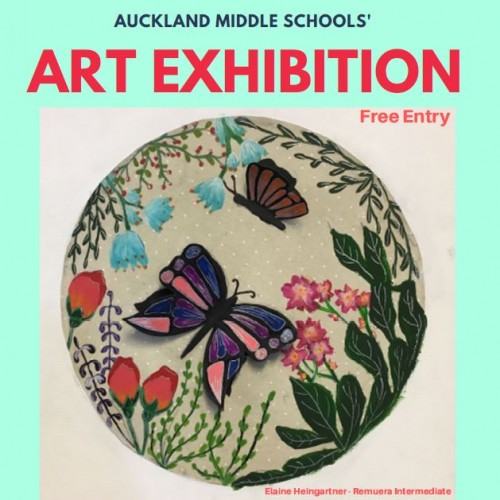 Auckland Middle School's Art Exhibition