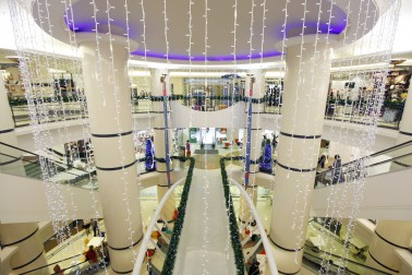 Interior of mall