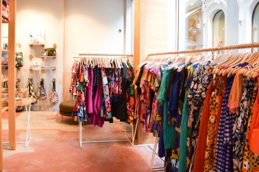 Gorman dresses on display