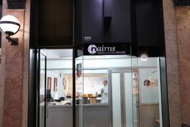 Nairns shop front