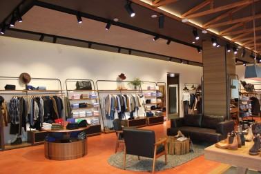 Inside the R.M.Williams store