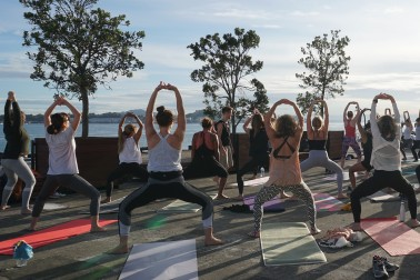 Sunrise Yoga - Summer at Queens Wharf