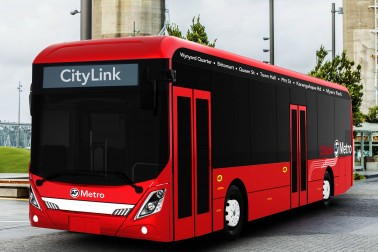 The CityLINK bus route is changing to electric buses