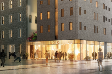 The Hotel Britomart - artist's impression of the view from Takutai Square