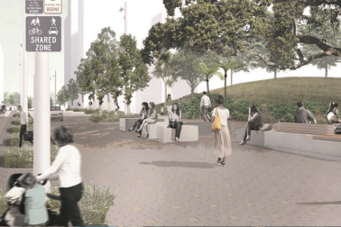 Concept image for Federal Street upgrade