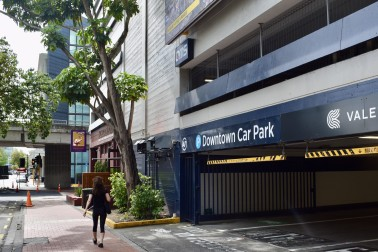 Downtown car park