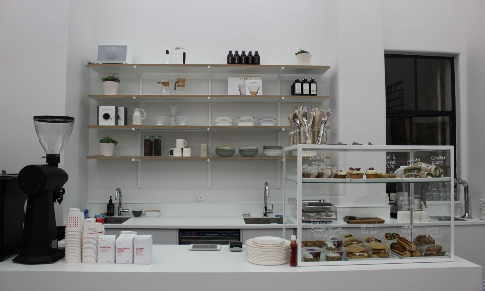 Counter and cabinet food