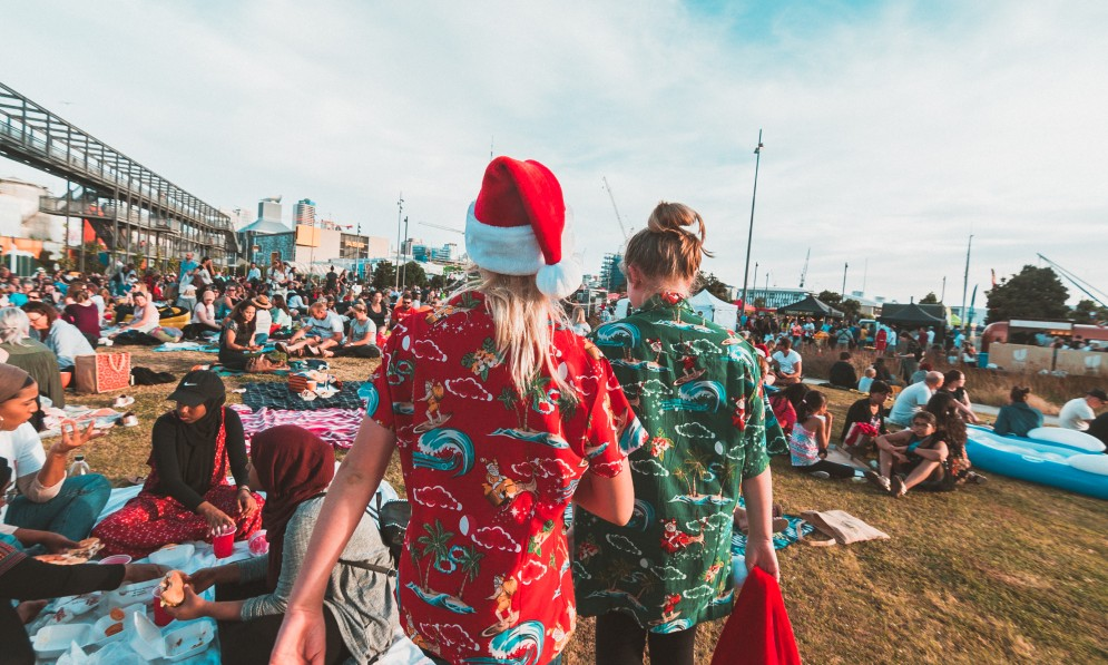 Silo Park Christmas movie