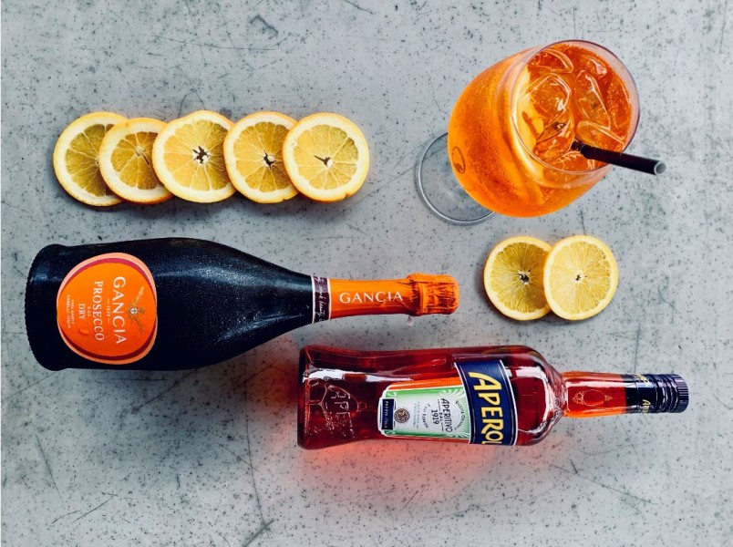 The Conservatory Aperol Spritz