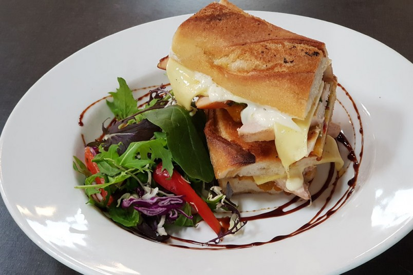 HeaventScent Cubano toasted sandwich