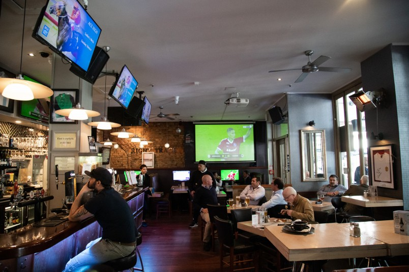 The Right Track Sports Bar
