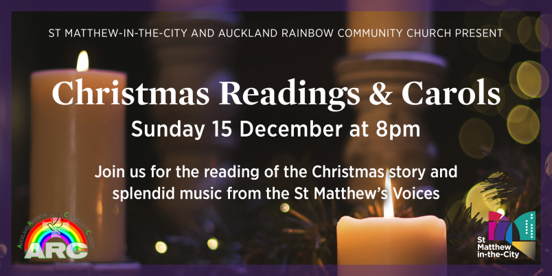 Christmas Readings & Carols at St Matthew-in-the-City