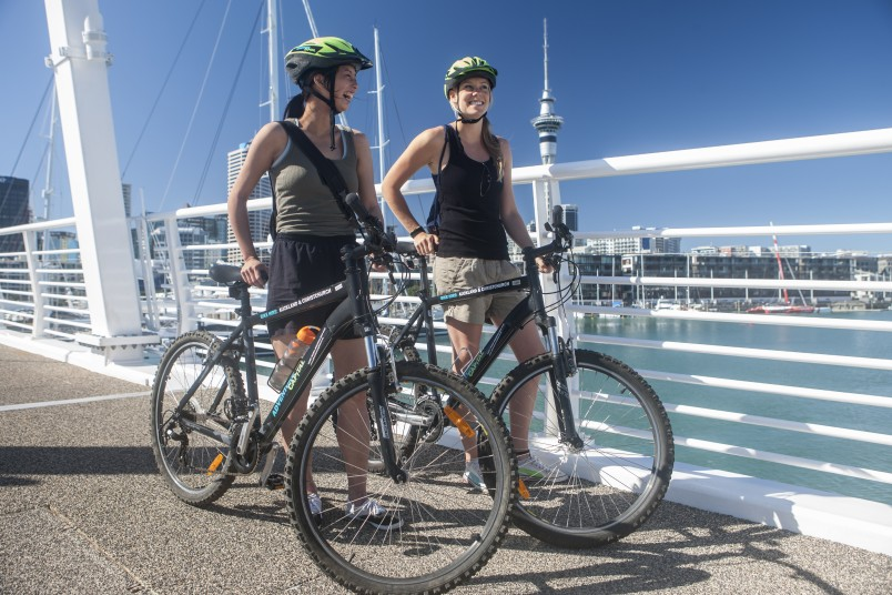 Adventure-Capital-Auckland-bike-hire-in-the-city