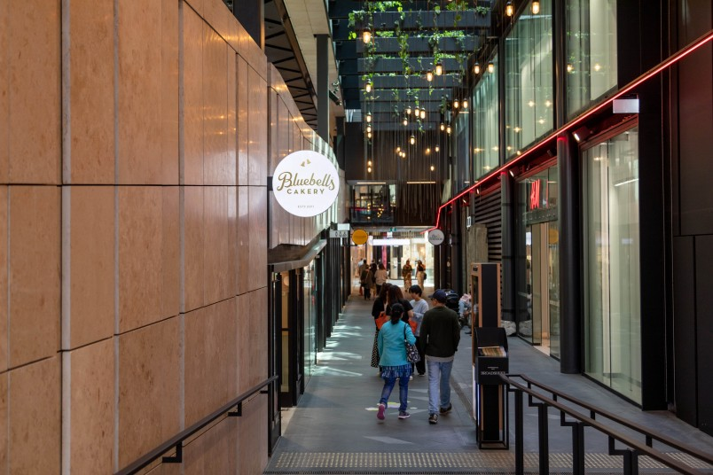 Laneways in Commercial Bay