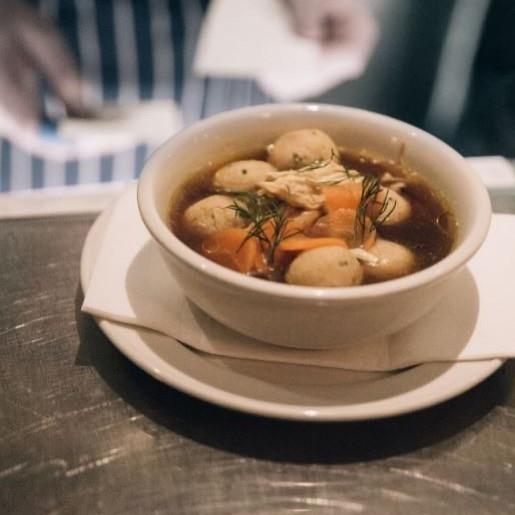 Matzo soup - federal delicatessen