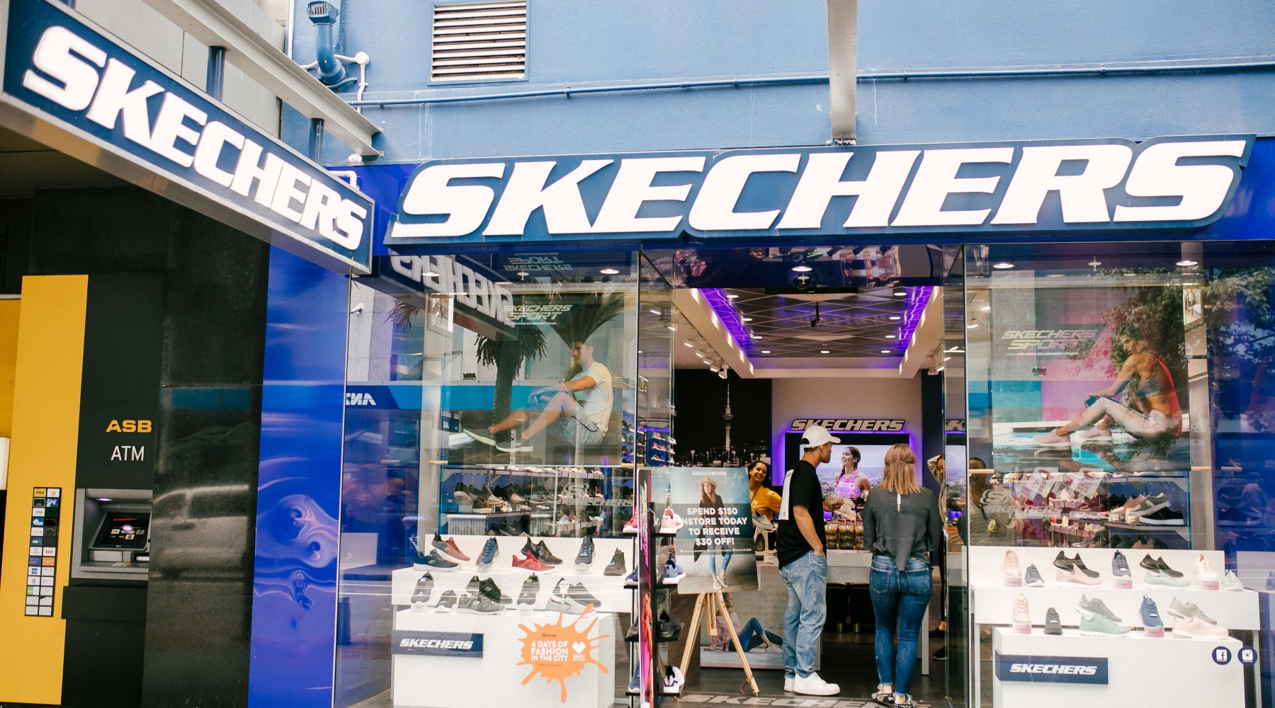 Perdido Volver a disparar alguna cosa  Skechers - Auckland Shopping   Heart of the City